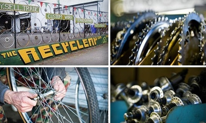 The Recyclery - Portland: $30 for a Bike Performance Tune-Up from The Recyclery ($65 Value)