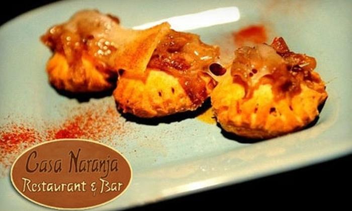 Casa Naranja Restaurant & Bar - Boise: $12 for $25 Worth of Mediterranean-Inspired Tapas at Casa Naranja Restaurant & Bar
