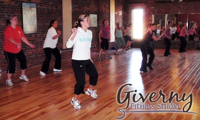 Giverny Fitness Studio - Warsaw: $15 for Five Group-Fitness Classes at Giverny Fitness Studio (Up to $34 Value)