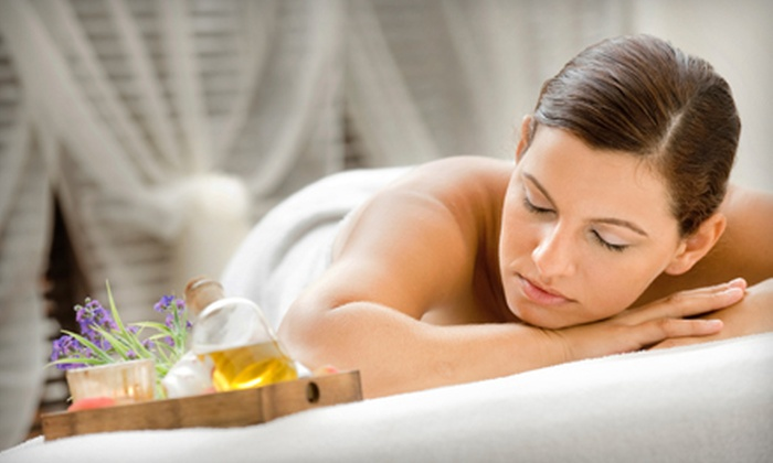 Blue Monarch Massage - San Antonio: Spa Package with Relaxation Massage, Face Treatment, and $25 Gift Card (52% Off)