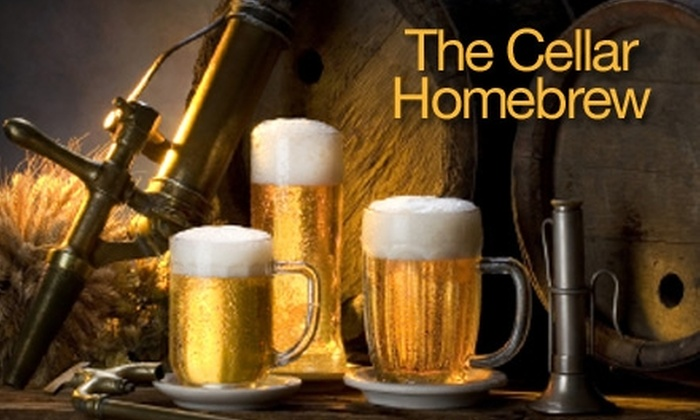 The Cellar Homebrew - Bitter Lake: $19 for a Beginner Beer-Making Class and 10% Off Beer-Making Supplies at The Cellar Homebrew