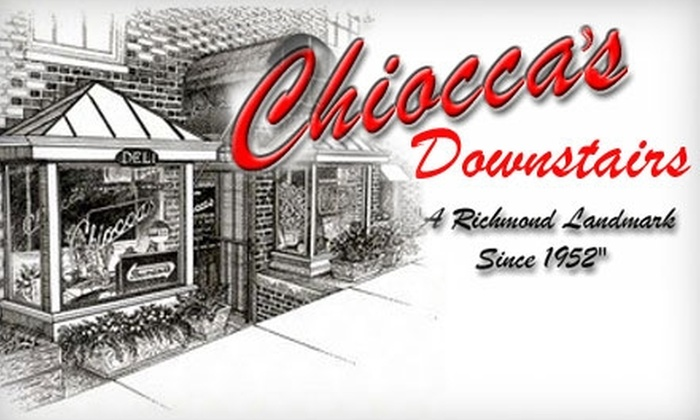 Chiocca's Downstairs Deli and Bar - The Museum District: $6 for $12 Worth of Deli Eats and Extras at Chiocca's Downstairs Deli and Bar