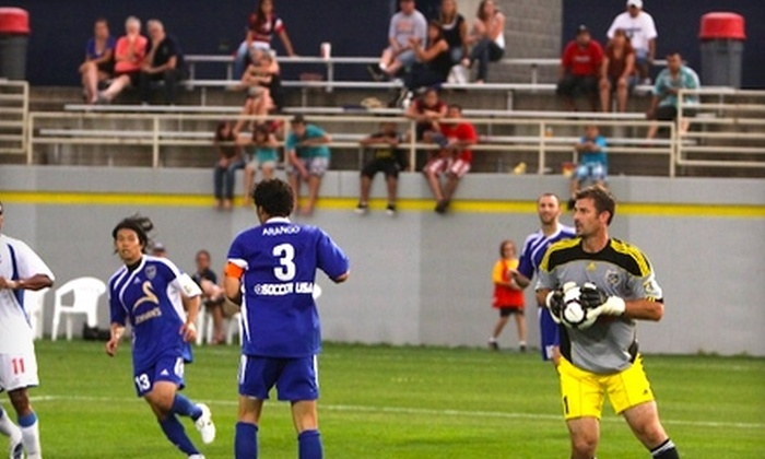 NSC Minnesota Stars - Blaine: $12 for Two Tickets to an NSC Minnesota Stars Professional Soccer Game ($24 Value). Two Games Available.