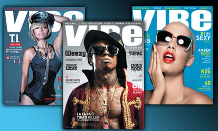 """""""Vibe"""" Magazine - Eldersburg: $7 for a Two-Year Bimonthly Subscription to """"Vibe"""" Magazine ($14.95 Value)"""