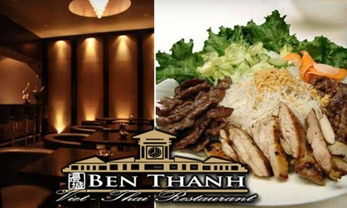 Ben Thanh - Vanier: $8 for $20 Worth of Pan-Asian Fare and Drinks at Ben Thanh