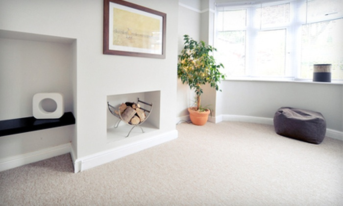 Green Cleaning Technologies - Multiple Locations: Carpet Cleaning for Three, Four, Five, or Seven Rooms from Green Cleaning Technologies (Up to 81% Off)