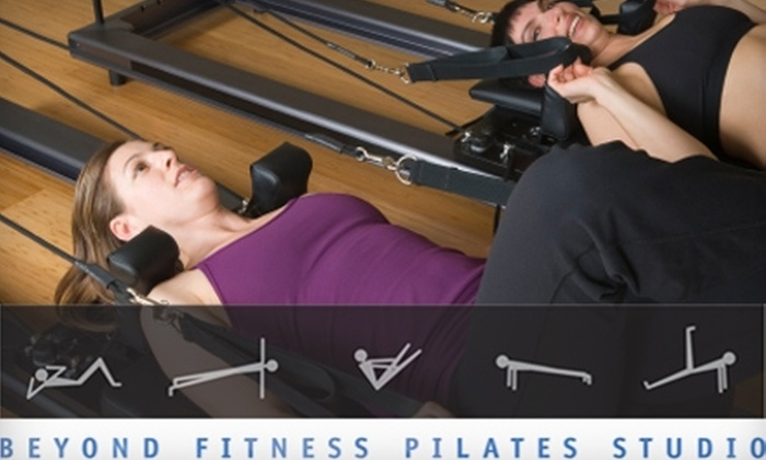 Beyond Fitness Pilates Studio - Cambridge Highlands: $50 for Five Small-Group Pilates-Mat Classes at Beyond Fitness Pilates Studio in Cambridge ($125 Value)