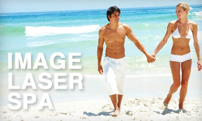Image MD - Eastside: $120 for Six Laser Hair-Removal Sessions at Image Laser Spa in Long Beach (Up to $2,800 Value)