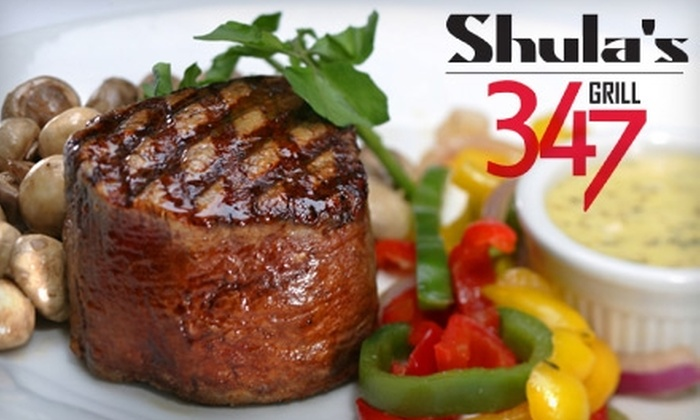 Shula's 347 Grill - Tallahassee: $25 for $50 Worth of Steakhouse Fare at Shula's 347 Grill