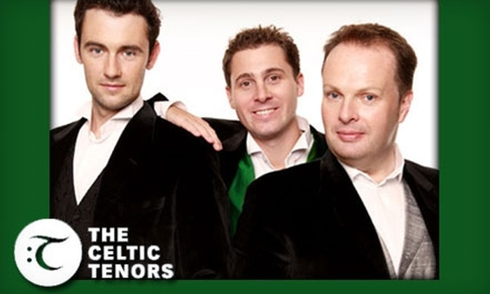 Ryan Center - South Kingstown: $18 for One Ticket to the Celtic Tenors Holiday Concert on Friday, December 3 at the Ryan Center in Kingston
