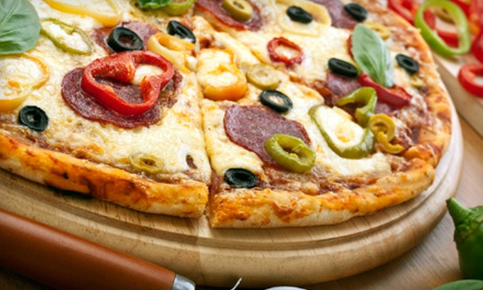 Pizzadelic - Halifax: Pizza Feast with Garlic Poppers and Soda for Two to Three or Four to Five People at Pizzadelic