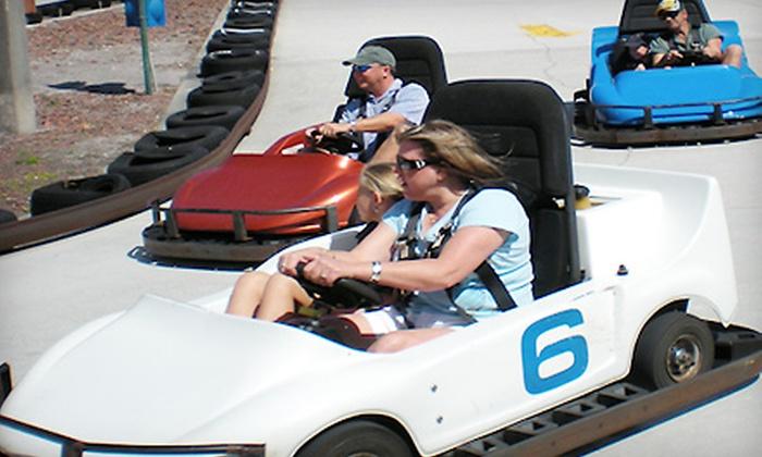 76 Golf World Family Fun Center - Stuart: Three-Hour Unlimited Fun Pass for One or Four People at 76 Golf World Family Fun Center