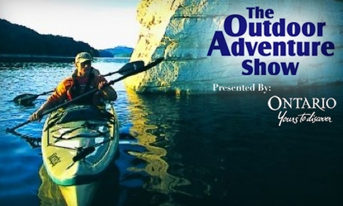 The Outdoor Adventure Show - Malton: $12 for Two Tickets to The Outdoor Adventure Show (Up to $24 Value)