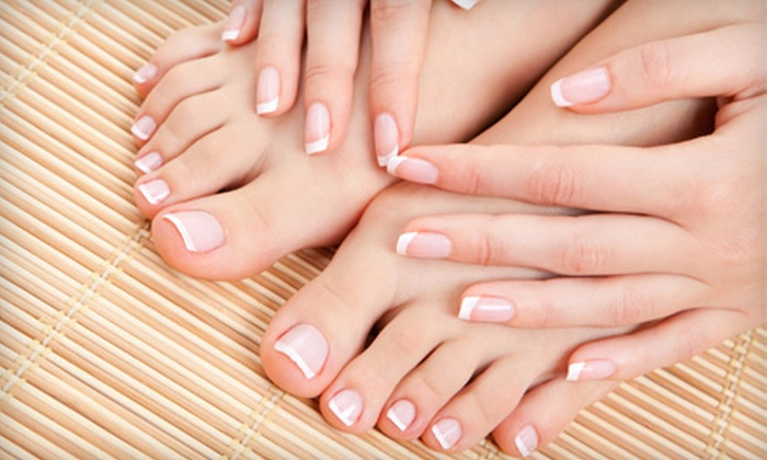 Charm Ville Day Spa - Valrico: $29 for a Tropical Mani-Pedi at Charm Ville Day Spa in Valrico ($70 Value)