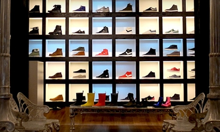 Covert Shoe Lab - Manhattan: $20 for $40 Toward Designer Sneakers and Boots at Covert Shoe Lab