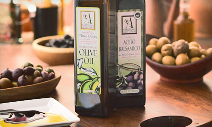 The Artisanal Kitchen: $19 for Package of Gourmet Olive Oil and Balsamic Vinegar Plus Shipping from The Artisanal Kitchen (Up to $41.98 Value)