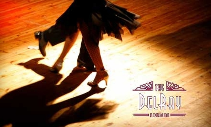 The DelRay Ballroom & Lounge - Downtown: $40 for Eight Weeks of Group Dance Lessons at The DelRay Ballroom & Lounge ($80 Value)