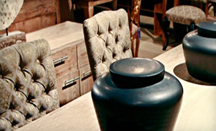 $200 Groupon for High-End Home Accents and Furniture - Queens Furniture in Houston