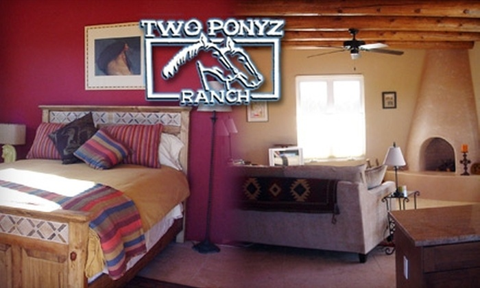 Two Ponyz Ranch - Mountainair: $199 for a Two-Night Southwestern Getaway Stay at Two Ponyz Ranch in Mountainair (Up to $400 Value)