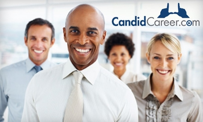 CandidCareer.com: $15 for a Six-Month Subscription Membership to CandidCareer.com ($30 Value)