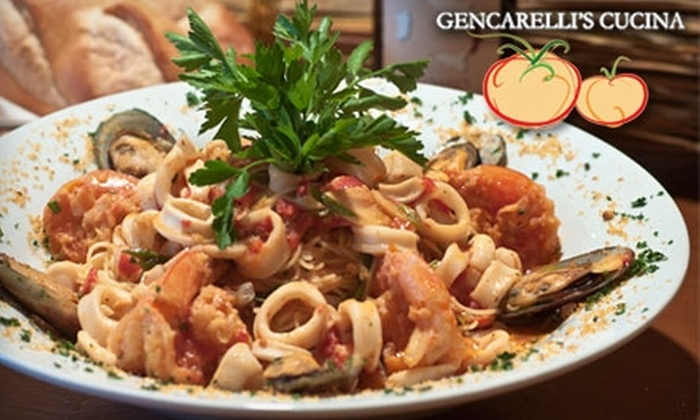 Gencarelli's Cucina - Montclair: $20 for $40 Worth of Italian Fare and Drinks at Gencarelli's Cucina