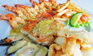 Surfside Restaurant: Fisherman's Platter from R186 for Two at Surfside Restaurant