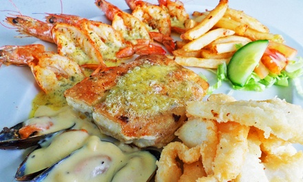 Fisherman's Platter Each for Two at Surfside Restaurant