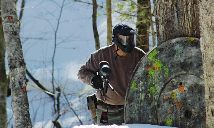 Friendly Fire Paintball - Friendly Fire Paintball: Paintball Package for Two, Four, or Six or Splatmaster Party Package at Friendly Fire Paintball (Up to 54% Off)