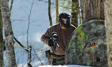 Paintball Package for Two, Four, or Six or Splatmaster Party Package at Friendly Fire Paintball (Up to 60% Off)