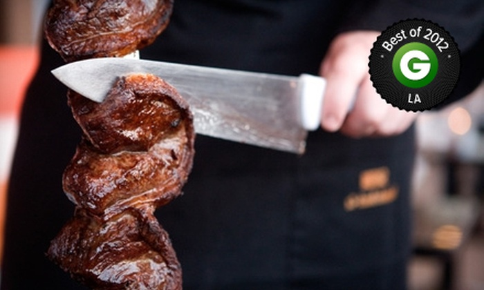 Samba - Universal City: All-You-Can-Eat Churrascaria Dinner for Two or Four at Samba (Up to Half Off). Six Options Available.