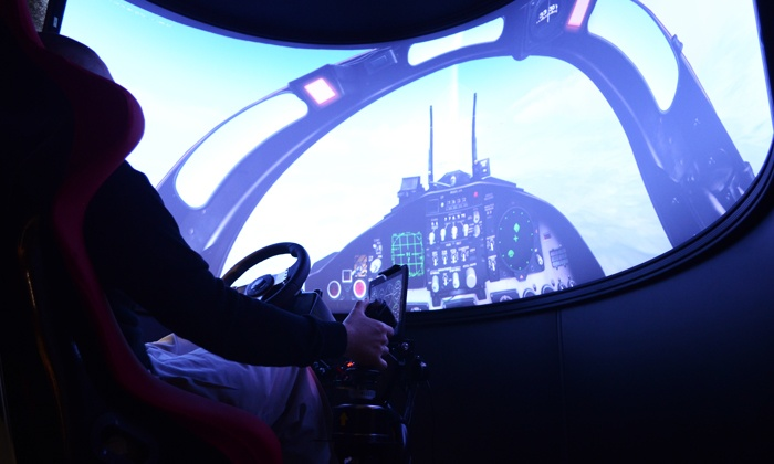 Aviation Xtreme Flight Simulation Center - Inside The Parks at Arlington: 30-Minute Flight Simulator Experience for One or Two at Aviation Xtreme Flight Simulation Center (Up to 41% Off)