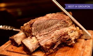 Copacabana Brazilian Steakhouse: Brazilian Rodizio Dinner at Copacabana Brazilian Steakhouse (Up to 45% Off). Four Options Available.