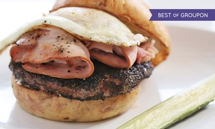 Burger Meal for Two or Four for Lunch or Dinner at Blanc Burgers + Bottles (Up to 39% Off)