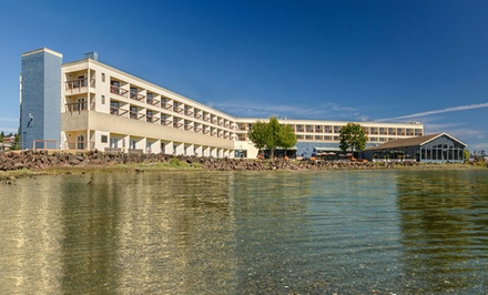 1- or 2-Night Stay with Breakfast at Silverdale Beach Hotel in Silverdale, WA