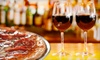Cellar 55 Restaurant and Wine Bar - Melrose: Pizza Dinner for Two or Four at Cellar 55 Restaurant and Wine Bar