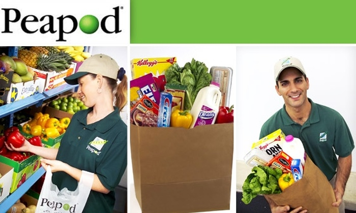 Peapod - Chicago: Get $50 Worth of Groceries Delivered to You with Peapod