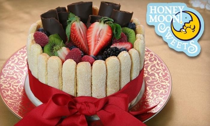 Honey Moon Sweets Bakery & Dessert Bar - Tempe: $20 for Tiramisu Valentine's Cake at Honey Moon Sweets Bakery & Dessert Bar in Tempe