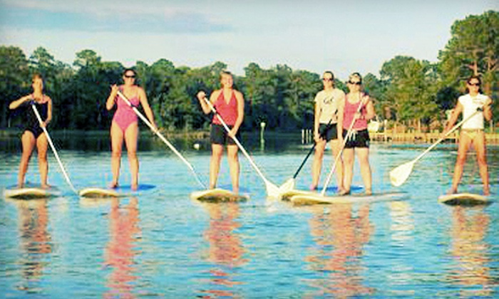 Tula Adventure Sports - Virginia Beach: First Landing Paddle Standup Paddleboard Tour for One or Two at Tula Adventure Sports in Virginia Beach (Up to 53% Off)