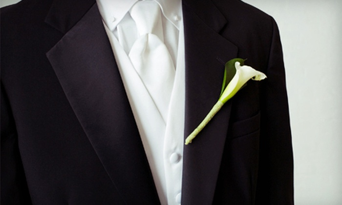 Top Hat & Tails - Maplewood: $65 for a Tuxedo Rental from Top Hat & Tails in Randolph ($180 Value)
