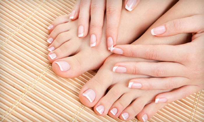 Yufang Luo at Reflections Salon - Reflections Salon: $40 for Mani-Pedi from Yufang Luo at Reflections Salon ($80 Value)