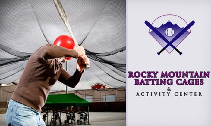 Rocky Mountain Batting Cages - Northeast Colorado Springs: $20 for One Hour of Cage Rental at Rocky Mountain Batting Cages