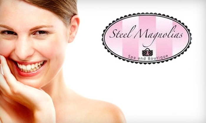 Steel Magnolias Spa and Boutique - Saint Louis: $45 for One Face and Neck Microdermabrasion with Relaxing Facial at Steel Magnolias Spa and Boutique ($115 Value)