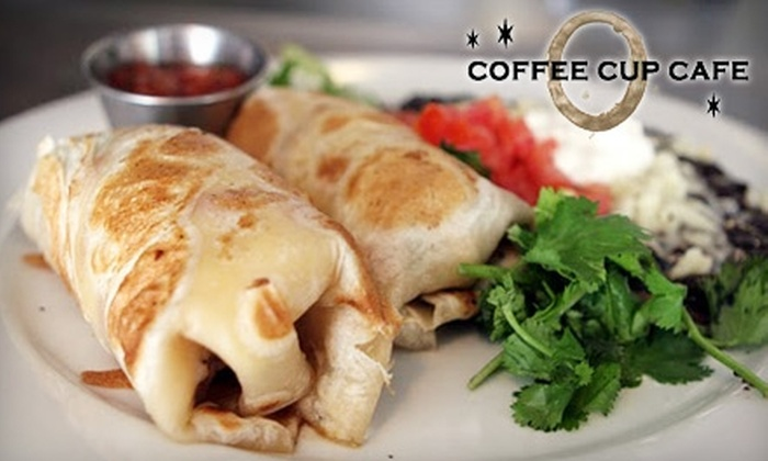 Coffee Cup - Village: $15 for $30 Worth of Breakfast and Lunch at the Coffee Cup in La Jolla