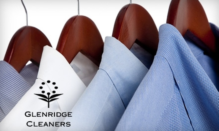Glenridge Cleaners - Waterloo: $15 for $30 Worth of Dry Cleaning at Glenridge Cleaners