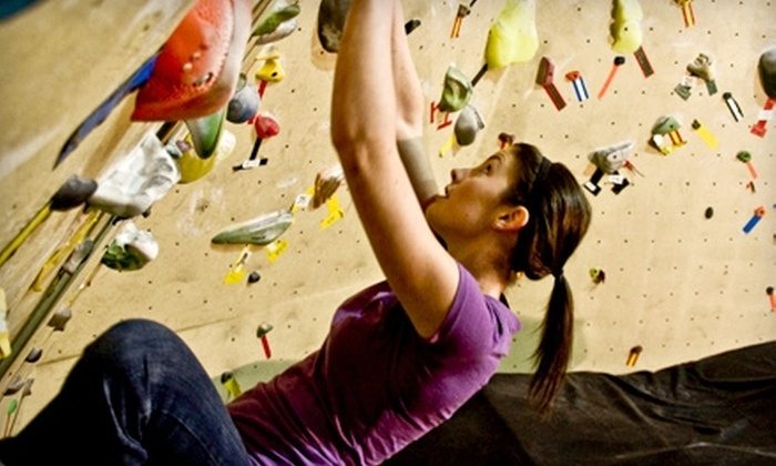 Project Climbing Centre - Highway 11: $10 for One Boulder Pass, Shoe Rental, and Chalk (Up to $20 Value) or $30 for Five Bouldering Passes (Up to $60 Value) at Project Climbing Centre