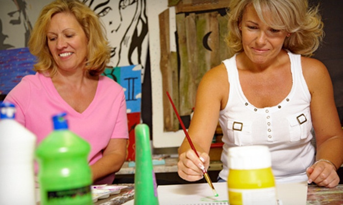 Art Student Academy - Multiple Locations: Painting Class or BYOB Painting Class for One, Two, or Four at Art Student Academy in Wake Forest (Up to 53% Off)