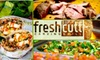 Fresh Cutt Carving Grill - Sherman Oaks: $8 for $16 Worth of Healthy, Mediterranean Cuisine and Drinks at Fresh Cutt Carving Grill