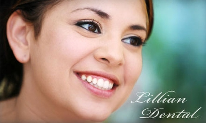Lillian Dental Center for Cosmetic & Implant Dentistry - Perdido Heights: $179 for an In-Office Laser Teeth Whitening at Lillian Dental Center for Cosmetic & Implant Dentistry ($600 Value)