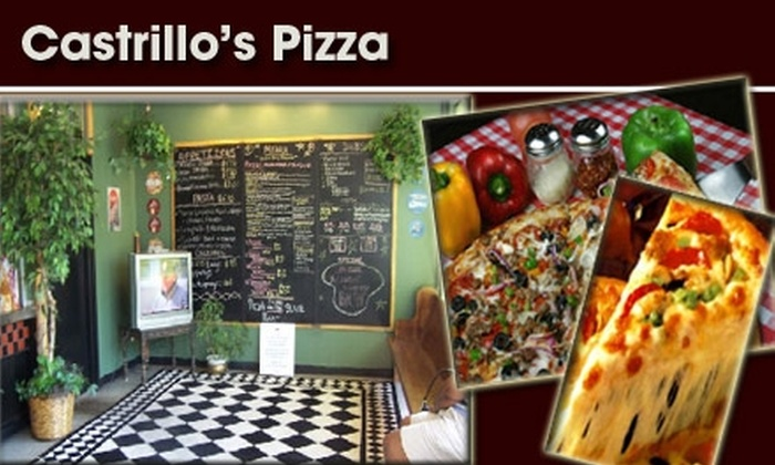 Castrillo's Pizza - Inglewood: $11 for $20 Worth of Pizza and More at Castrillo's Pizza