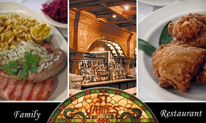 St. James Restaurant - Avilla: $12 for $25 Worth of Authentic German and American Cuisine at St. James Restaurant